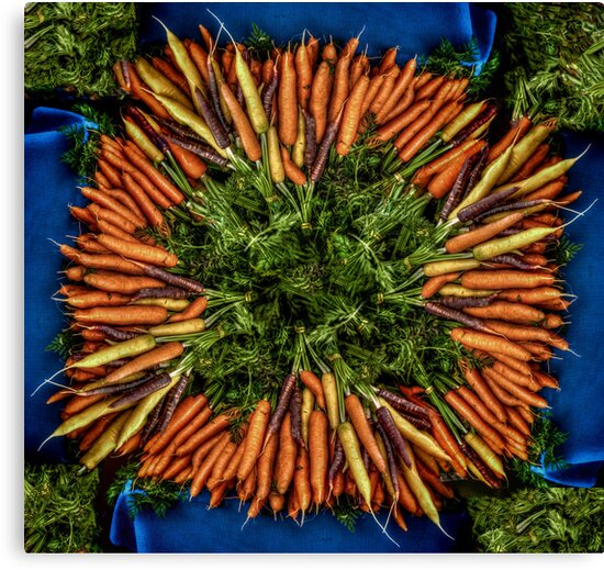 Rainbow Carrots by Steve Walser