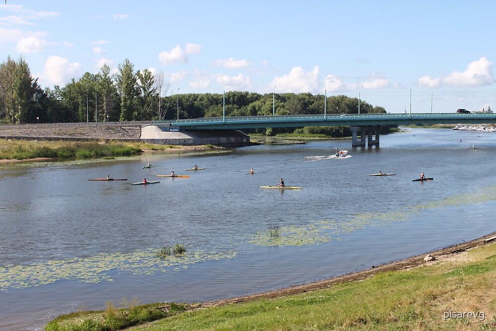 On river Kotorosl  by pisarevg