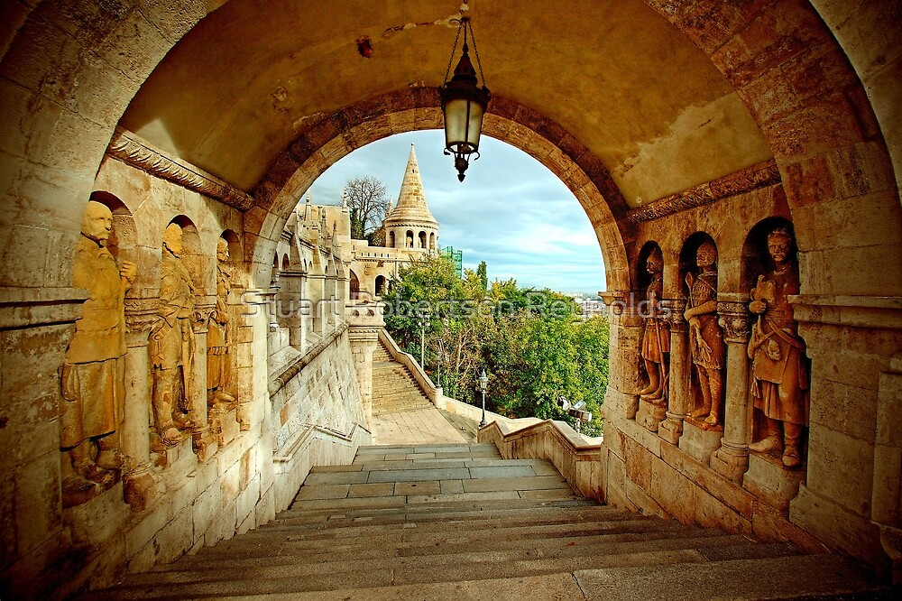 Fisherman's Bastion by Stuart Robertson Reynolds