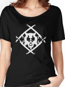 Xavier Wulf Black Women's Relaxed Fit T-Shirt