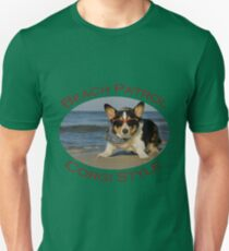 Beach Patrol Corgi Style T-Shirt