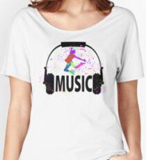 MUSIC Women's Relaxed Fit T-Shirt