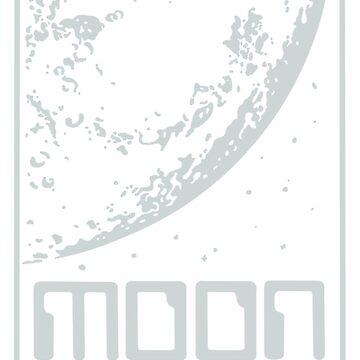 Moon Records Label by Jenn84x