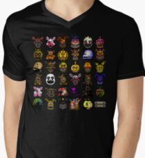 Multiple characters (New set) - Five Nights at Freddy's - Pixel art  T-Shirt