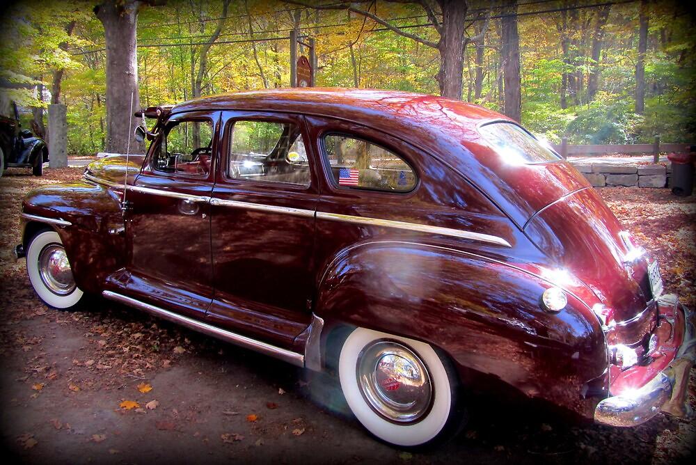 1948 Plymouth by Debbie Robbins