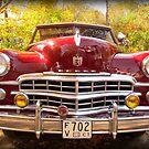 1949 Dodge Convertible by Debbie Robbins