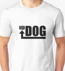 Up Dog (Black Text Logo) T-Shirt