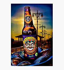 Coney Island Beer Photographic Print