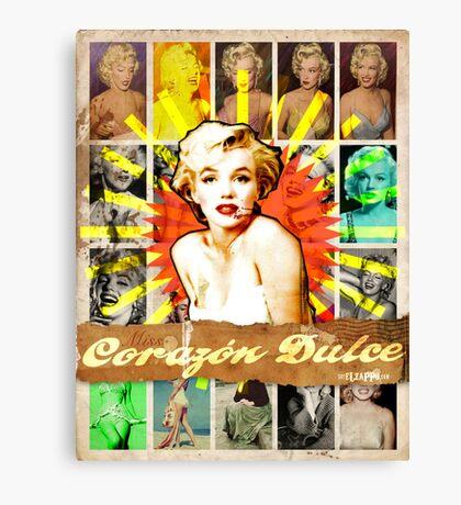 Icons: Miss Dulce Corazón Canvas Print