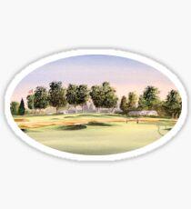 Oakmont Golf Course 14Th Green Sticker