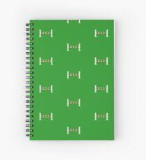 Riding hurdle Spiral Notebook