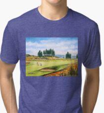 Gleneagles Golf Course Scotland Tri-blend T-Shirt