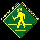 Cheese Head Crossing with Beer by Christopher Hautala