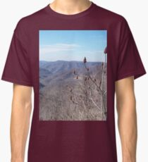 Scenic Appalachian Mountains Overlook Classic T-Shirt