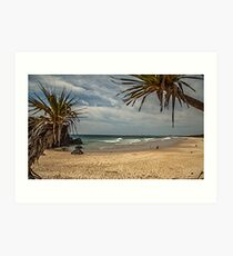 Dreamtime Beach Fingal Head Art Print