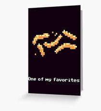 Monkey Island - Cheese squigglies Greeting Card
