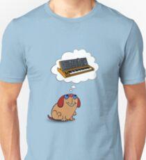 The Moog thinks of Moog Unisex T-Shirt