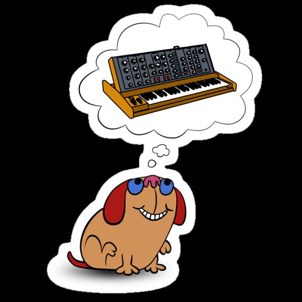 The Moog thinks of Moog by mikiex