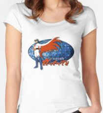 Gatchaman Ken The Eagle Women's Fitted Scoop T-Shirt