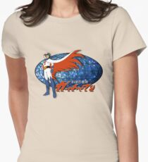 Gatchaman Ken The Eagle Womens Fitted T-Shirt