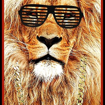 Cool King of the Jungle by GalaxyTees