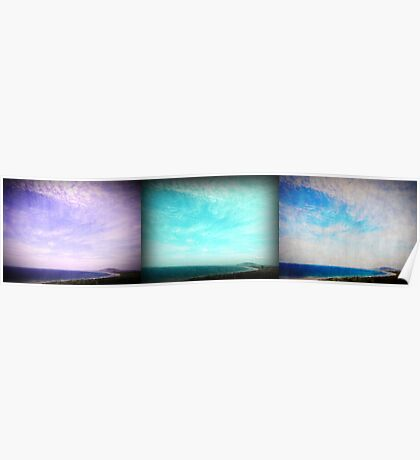 iPhoneography: Gerroa Triptych Poster