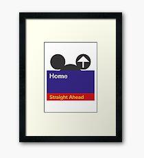 Goin' Home Framed Print