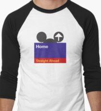 Goin' Home Men's Baseball ¾ T-Shirt