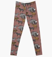I Am Thankful For Odd-Toed Ungulates Leggings