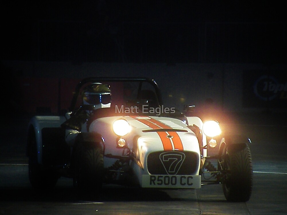 The Stig at Top Gear Live 2012 in a Caterham 7 by Matt Eagles