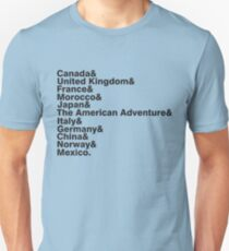 The World Showcase T-Shirt