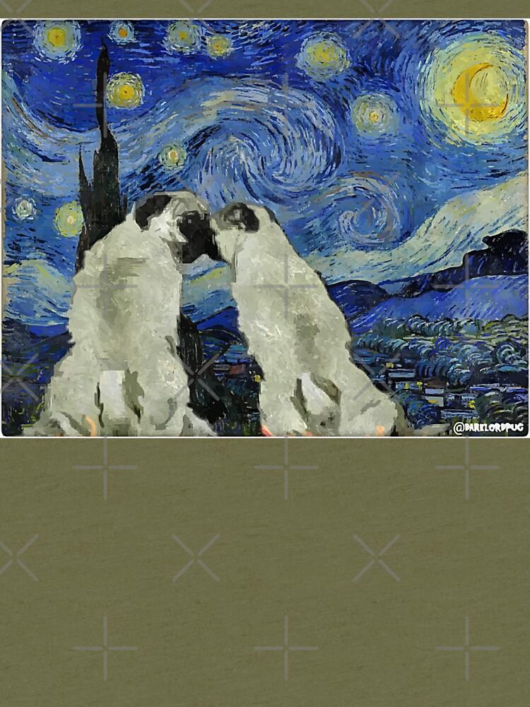 Sternennacht Pugs von darklordpug