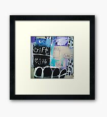 Post-it note,note Framed Print