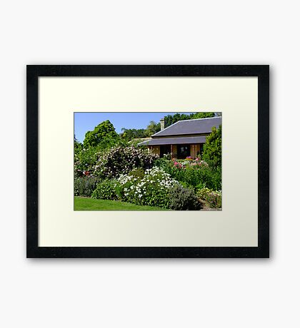Berry Park House, Duckenfield Framed Print