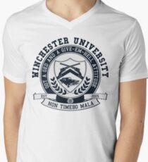 Winchester U Men's V-Neck T-Shirt