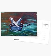 Don't get your feet wet! Postcards