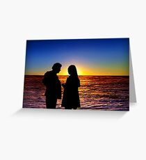 Sunset 8 Greeting Card