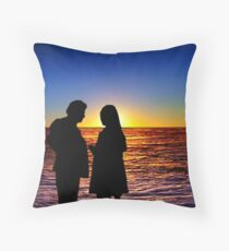 Sunset 8 Throw Pillow
