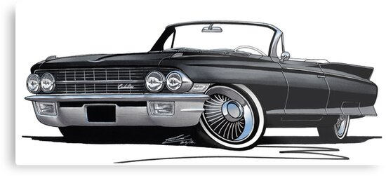 Cadillac Eldorado Biarritz (1962) Black by Richard Yeomans