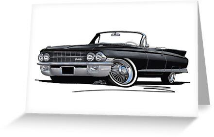Cadillac Eldorado Biarritz (1962) Black by Richard Yeomans