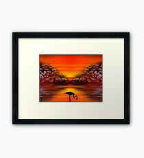 Sunset 9 Framed Print