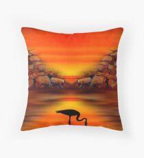Sunset 9 Throw Pillow