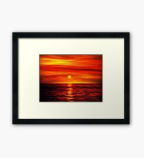Sunset 10 Framed Print