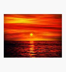 Sunset 10 Photographic Print