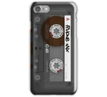 Audio Cassette Tape iPhone Case/Skin