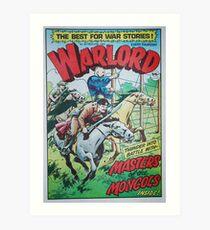 Warlord - Masters of the Mongols Art Print