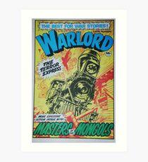 Warlord - The Terror Express Art Print