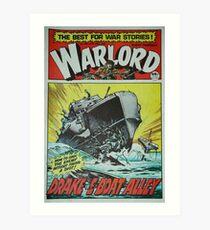 Warlord - Drake 2 Art Print