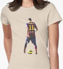 neymar Womens Fitted T-Shirt