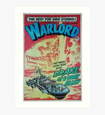 Warlord - Drake 4 Art Print